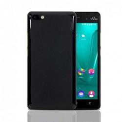 coque S-Line noire pour smartphone WIKO Lenny 3
