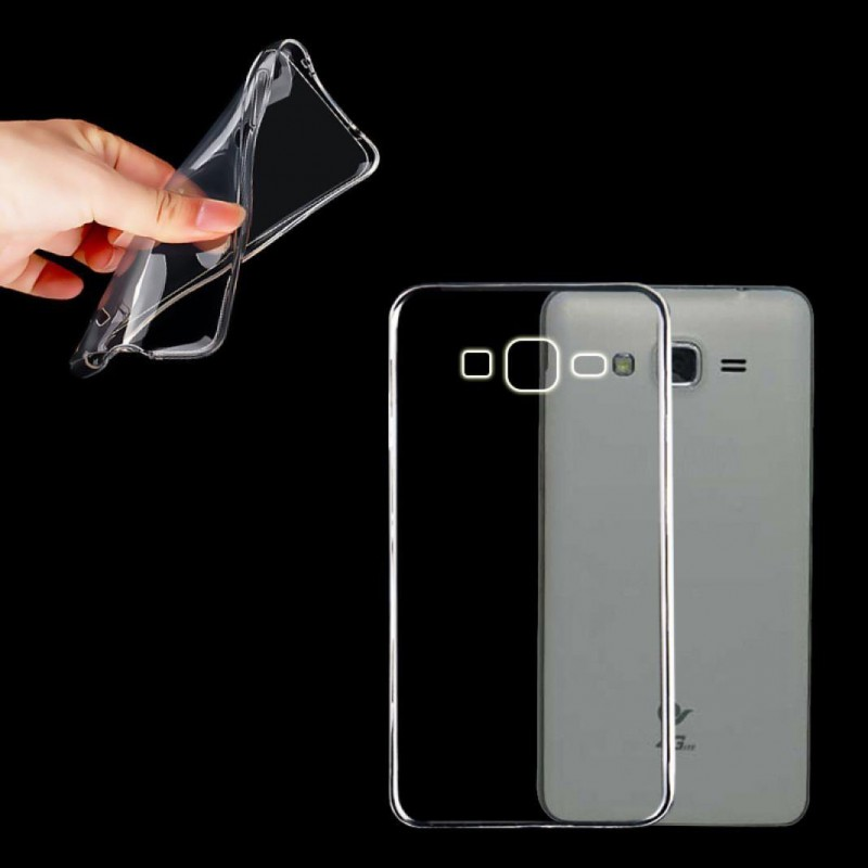 Coque de protection Transparente pour Samsung Galaxy Core Prime SM-G360F G361 Une coque discrète pour votre smarphone