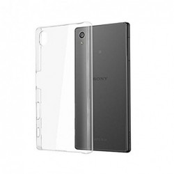 coque Transparente Silicone pour smartphone Sony Xpéria E5