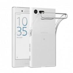 coque Transparente Silicone pour smartphone Sony Xpéria X Compact/Mini