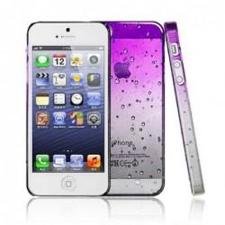 coque Goutte de pluie pour smartphone Iphone 5/Iphone 5S/Iphone SE Goutte de Pluie Violet