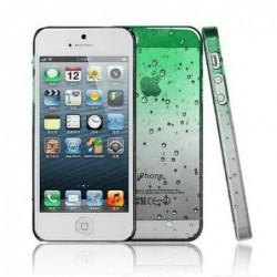 coque Goutte de pluie pour smartphone Iphone 5/Iphone 5S/Iphone SE Goutte de Pluie Vert