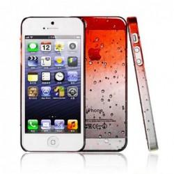 coque Goutte de pluie pour smartphone Iphone 5/Iphone 5S/Iphone SE Goutte de Pluie Orange