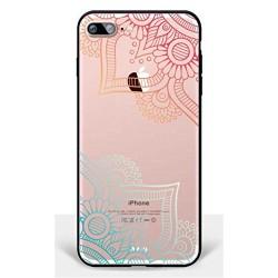 Coque Iphone 5C Silicone Transparente Motifs Fleurs