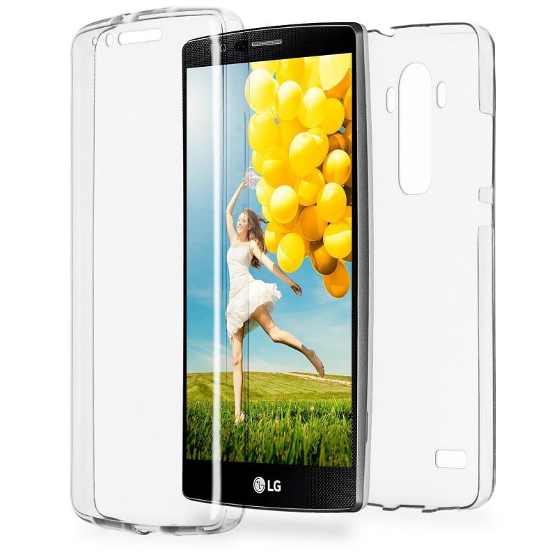 Coque Intégrale 360° pour LG Magna ÉTUI Housse en Gel Silicone Transparent Avant Arrière (LG-magna)