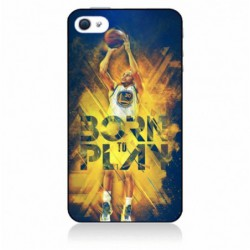Coque noire pour IPHONE X Stephen Curry NBA Golden State Born to Play