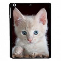 Coque noire pour Samsung Tab 7.7 P6800 Bébé chat tout mignon - chaton yeux bleux