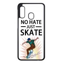 Coque noire pour Samsung S21 FE Skateboard