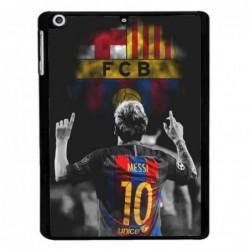 Coque noire pour Samsung Tab 7 P6200 Lionel Messi 10 FC Barcelone Foot