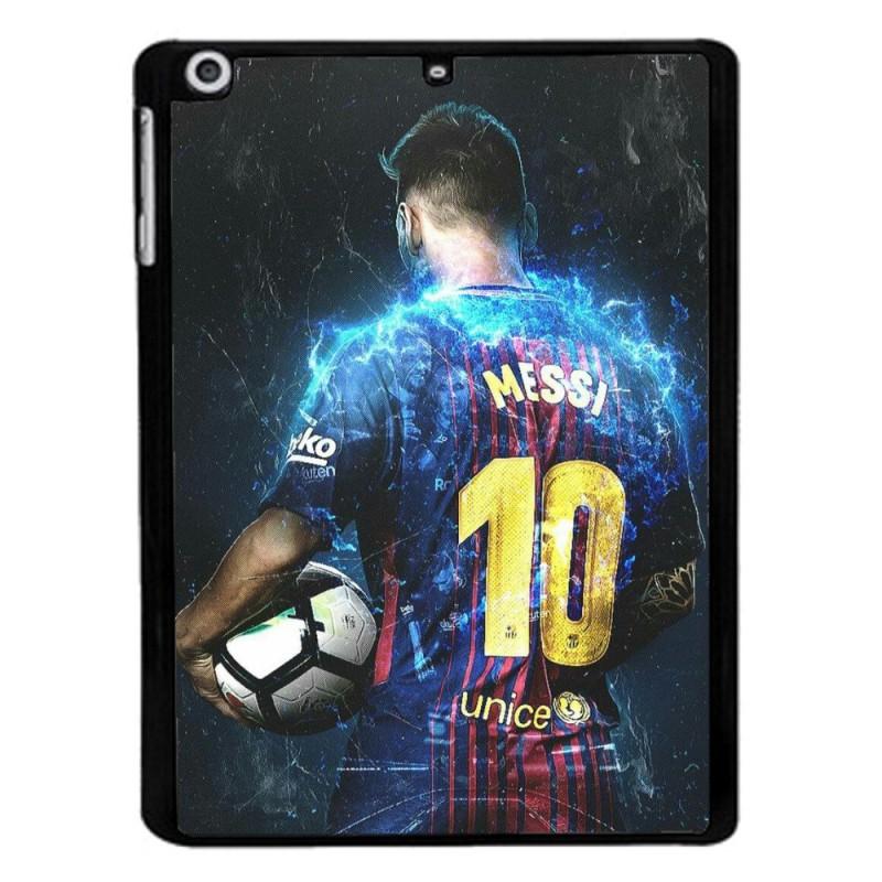Coque noire pour Samsung Tab 7 P6200 Lionel Messi FC Barcelone Foot