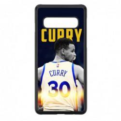 Coque noire pour Samsung J730 Stephen Curry Golden State Warriors Basket 30