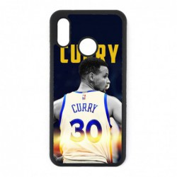Coque noire pour Huawei P30 Stephen Curry Golden State Warriors Basket 30