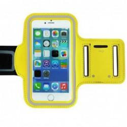 coque Transparente Silicone pour smartphone Iphone 4 - JAUNE