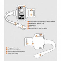 coque Transparente Silicone pour smartphone Iphone 4 - BLEU CLAIR