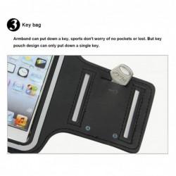 coque Transparente Silicone pour smartphone Iphone 4 - ROUGE