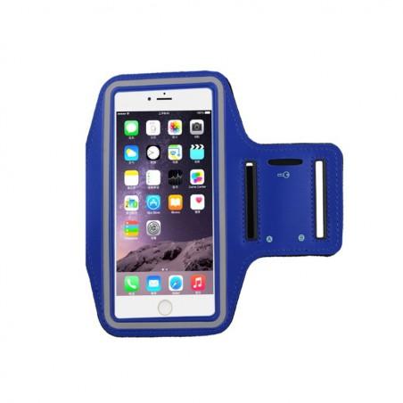 coque Transparente Silicone pour smartphone Iphone 4 - BLEU FONCÉ