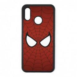 Coque noire pour Huawei P20 Lite les yeux de Spiderman - Spiderman Eyes - toile Spiderman