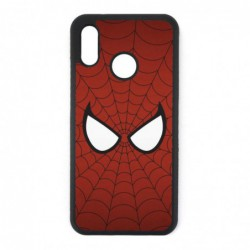 Coque noire pour Huawei P7 les yeux de Spiderman - Spiderman Eyes - toile Spiderman