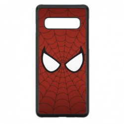 Coque noire pour Samsung Grand Prime G530 les yeux de Spiderman - Spiderman Eyes - toile Spiderman